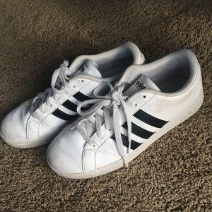 Adidas Neo Baseline Shoes Slightly Worn Size 8 1/2